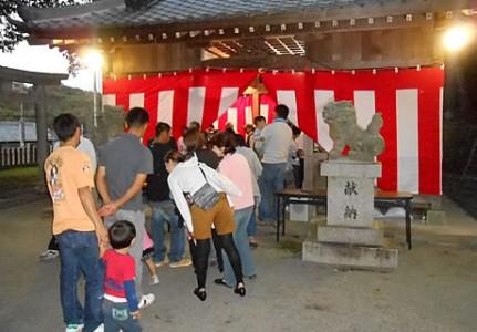 20131013住吉神社秋祭り受付