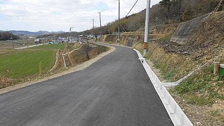 20140401旧道舗装完了