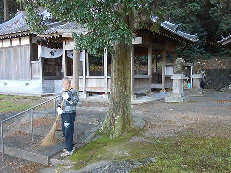20161225住吉神社掃除